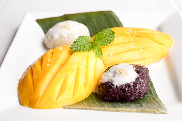 Mango with Sweet Thai Sticky Rice